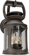 Troy BF4512 Old Trail Traditional Solid Aluminum Fluorescent Exterior Sconce Lighting