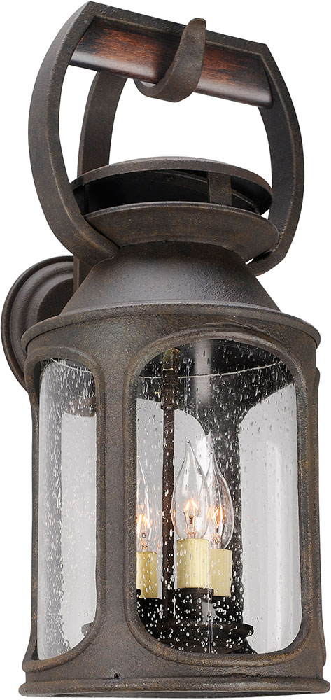 Troy bf4513 old trail traditional solid aluminum fluorescent outdoor troy bf4513 old trail traditional solid aluminum fluorescent outdoor light sconce loading zoom aloadofball Images