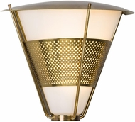 Troy BL4912 Rexford Historic Brass LED Outdoor Medium Wall Sconce