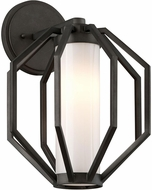 Troy BL4982 Boundary Contemporary Textured Graphite LED Outdoor Medium Lamp Sconce