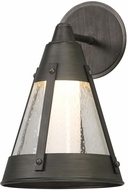 Troy BL5061 North Bay Graphite LED Outdoor Small Wall Lighting Sconce