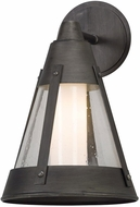 Troy BL5062 North Bay Graphite LED Exterior Medium Wall Sconce Lighting