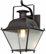 Troy BL5071CI Wellesley Charred Iron LED Exterior Small Wall Light Sconce