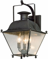 Troy BL5072CI Wellesley Charred Iron LED Exterior Medium Wall Light Sconce