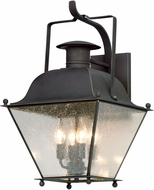 Troy BL5073CI Wellesley Charred Iron LED Exterior Large Wall Sconce