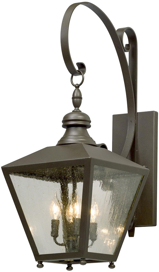 Troy BL5193 Mumford Bronze Outdoor Large Wall Light Fixture - TRO-BL5193