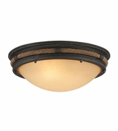 Troy C4120 Pike Place 6.25 Tall Flush Mount Lighting