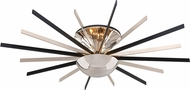 Troy C4804 Atomic Modern Polished Nickel with Matte Black  LED Ceiling Lighting