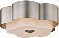 Troy C5652 Allure Contemporary Silver Leaf Ceiling Light