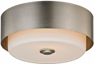 Troy C5662 Allure Contemporary Silver Leaf Ceiling Lighting Fixture