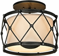 Troy C5940 Palisade Modern Aged Pewter Home Ceiling Lighting