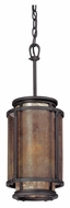 Troy F3102 Copper Mountain Old Silver Finish 22.75  Tall Mini Drum Pendant Lighting