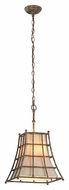 Troy F3783 Left Bank Coastal Rust Finish 17  Tall Pendant Lighting