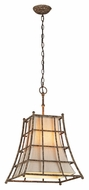 Troy F3784 Left Bank Coastal Rust Finish 17.75  Wide Pendant Light