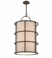 Troy F3918 Haven Liberty Rust Finish 37.5  Tall Drop Lighting Fixture