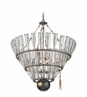 Troy F3948 121 Main Old Silver Finish 39.5  Wide Hanging Chandelier