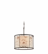 Troy F4025 Catch N Release Nautical 20  Wide Drum Pendant Light Fixture