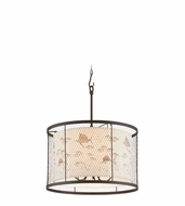 Troy F4026 Catch N Release Nautical 16.5  Tall Drum Pendant Lighting Fixture