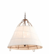 Troy F4073 Gulf Stream Retro 18  Wide Drop Ceiling Light Fixture
