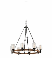 Troy F4156 Embarcadero 24.75  Tall Hanging Chandelier