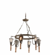 Troy F4175 Yardhouse Retro 31.5  Wide Lighting Chandelier