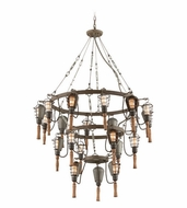 Troy F4178 Yardhouse Vintage 62.5  Tall Ceiling Chandelier