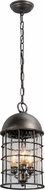 Troy F4437 Charlemagne Hand Worked Iron Exterior Mini Drop Ceiling Light Fixture
