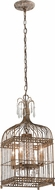 Troy F4544 Amelie Hand Worked Wrought Iron Foyer Lighting