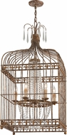 Troy F4546 Amelie Hand Worked Wrought Iron Foyer Lighting Fixture