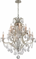 Troy F4576 Montparnasse Hand Worked Wrought Iron Chandelier Lighting