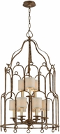 Troy F4836 Carousel Pc Bronze Large Foyer Light Fixture