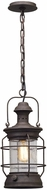 Troy F5057 Atkins Centenial Rust Outdoor Pendant Light