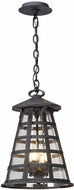 Troy F5167 Benjamin Vintage Iron Outdoor Hanging Pendant Light