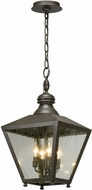Troy F5197 Mumford Bronze Outdoor Hanging Light Fixture
