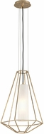 Troy F5213 Silhouette Modern Gold Leaf Small Drop Lighting