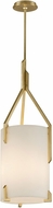 Troy F5236 Quantum Gold Leaf Medium Pendant Light