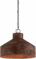 Troy F5265 Rise & Shine Vintage Rust Patina Large Hanging Light Fixture