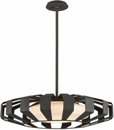 Troy F5614 Impulse Modern Textured Bronze LED Medium Pendant Light