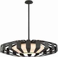 Troy F5616 Impulse Contemporary Textured Bronze LED Large Lighting Pendant