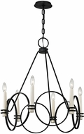 Troy F5956 Juliette Modern Country Iron Chandelier Light