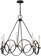 Troy F5958 Juliette Contemporary Country Iron Ceiling Chandelier