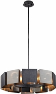 Troy F6045 Impression Modern Graphite And Satin Nickel Pendant Lamp
