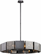 Troy F6046 Impression Contemporary Graphite And Satin Nickel Hanging Lamp