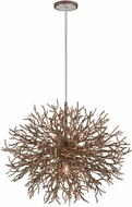Troy F6096 Sierra Contemporary Distressed Bronze 32  Hanging Pendant Lighting