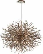 Troy F6097 Sierra Modern Distressed Bronze 40  Hanging Pendant Light