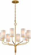 Troy F6168 Juniper Gold Leaf 32  Chandelier Lighting