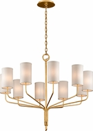 Troy F6169 Juniper Gold Leaf 42  Lighting Chandelier