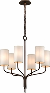 Troy F6176 Juniper Bronze Mini Chandelier Lamp