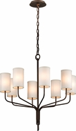 Troy F6178 Juniper Bronze 32  Chandelier Light