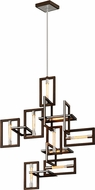 Troy F6189 Enigma Contemporary Bronze Chandelier Lighting